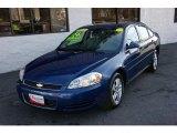 2006 Laser Blue Metallic Chevrolet Impala LT #25709942