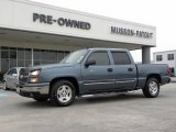 2006 Blue Granite Metallic Chevrolet Silverado 1500 LS Crew Cab #25709808