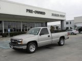 2006 Silver Birch Metallic Chevrolet Silverado 1500 Work Truck Regular Cab #25709814