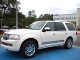 2007 White Chocolate Tri-Coat Lincoln Navigator Luxury #25709832