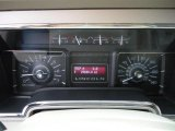 2007 Lincoln Navigator Luxury Gauges