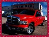 2003 Flame Red Dodge Ram 1500 SLT Quad Cab #25752187