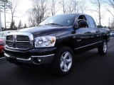 2008 Brilliant Black Crystal Pearl Dodge Ram 1500 Big Horn Edition Quad Cab 4x4 #25752495