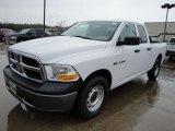 2010 Stone White Dodge Ram 1500 ST Quad Cab 4x4 #25752355