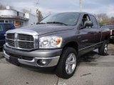 2007 Mineral Gray Metallic Dodge Ram 1500 ST Quad Cab 4x4 #25752510