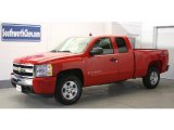 2007 Victory Red Chevrolet Silverado 1500 LT Extended Cab 4x4 #25752360