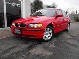 2004 Imola Red BMW 3 Series 325i Sedan #25752038