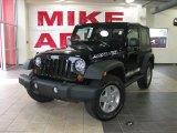 2010 Black Jeep Wrangler Sport 4x4 #25752205