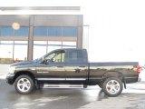 2007 Brilliant Black Crystal Pearl Dodge Ram 1500 Laramie Quad Cab 4x4 #25752371