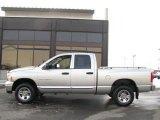 2005 Bright Silver Metallic Dodge Ram 1500 SLT Quad Cab 4x4 #25752372