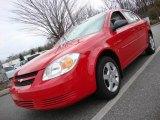 2007 Victory Red Chevrolet Cobalt LS Sedan #25752530