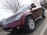 2007 Merlot Pearl Nissan Murano SL AWD #25752551