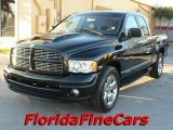 2004 Black Dodge Ram 1500 SLT Sport Quad Cab #25752086