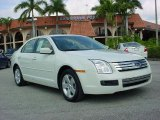 2008 White Suede Ford Fusion SE #25752095