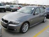 2009 Space Grey Metallic BMW 3 Series 328i Sedan #25752298