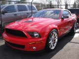 2007 Torch Red Ford Mustang Shelby GT500 Convertible #25752460