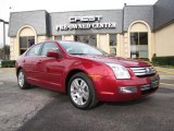 2008 Redfire Metallic Ford Fusion SEL V6 #25752314