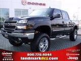 2007 Black Chevrolet Silverado 1500 Classic LT  Z71 Crew Cab 4x4 #25752157