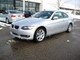 2010 Titanium Silver Metallic BMW 3 Series 335i xDrive Coupe #25792591