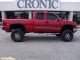 2005 Victory Red Chevrolet Silverado 1500 Z71 Extended Cab 4x4 #25792607