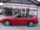 1995 Rio Red Ford Mustang GT Convertible #25792620