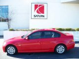 2006 Electric Red BMW 3 Series 325i Sedan #25792912