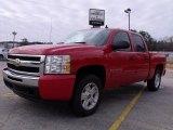 2009 Victory Red Chevrolet Silverado 1500 LT Crew Cab #25792633