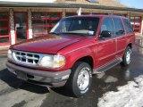 1997 Toreador Red Metallic Ford Explorer XLT 4x4 #25793091