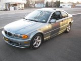 2002 Grey Green Metallic BMW 3 Series 325i Coupe #25793095