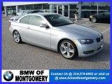 2008 Titanium Silver Metallic BMW 3 Series 335i Convertible #25792661