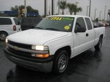 1999 Summit White Chevrolet Silverado 1500 LS Extended Cab #25792534