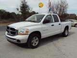 2006 Bright White Dodge Ram 1500 SLT Quad Cab #25792960
