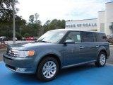 2010 Steel Blue Metallic Ford Flex SEL #25792551