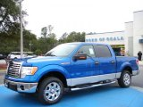 2010 Blue Flame Metallic Ford F150 XLT SuperCrew #25792553
