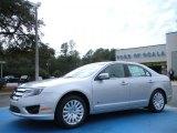 2010 Brilliant Silver Metallic Ford Fusion Hybrid #25792559