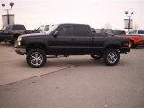 2005 Black Chevrolet Silverado 1500 LS Extended Cab 4x4 #25792982