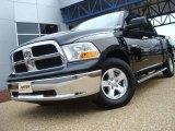 2009 Brilliant Black Crystal Pearl Dodge Ram 1500 SLT Crew Cab #25841547