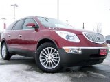 2009 Red Jewel Tintcoat Buick Enclave CXL AWD #25841448