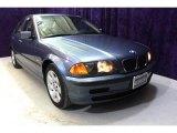 2001 Steel Blue Metallic BMW 3 Series 325i Sedan #25841726