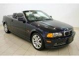 2001 Orient Blue Metallic BMW 3 Series 330i Convertible #25841921