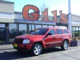2006 Inferno Red Crystal Pearl Jeep Grand Cherokee Laredo 4x4 #25841604
