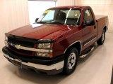 2004 Sport Red Metallic Chevrolet Silverado 1500 Regular Cab #25841935