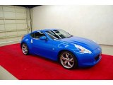 2009 Monterey Blue Nissan 370Z Sport Touring Coupe #25841620