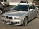 2003 Titanium Silver Metallic BMW 3 Series 325i Coupe #2586504