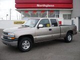 2002 Light Pewter Metallic Chevrolet Silverado 1500 LT Extended Cab 4x4 #25841518