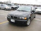 2004 Jet Black BMW 3 Series 325i Sedan #25841801