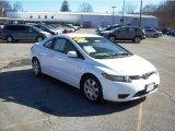 2007 Taffeta White Honda Civic LX Coupe #25841815