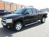 2010 Black Chevrolet Silverado 1500 LT Extended Cab 4x4 #25841968
