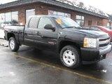 2007 Black Chevrolet Silverado 1500 LS Extended Cab 4x4 #25891115