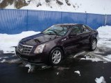 2009 Black Cherry Cadillac CTS 4 AWD Sedan #25891324